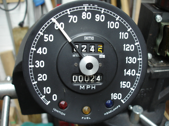 Speedometers cleaning and re-calibration - E-Type - Jag