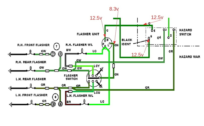 Hazard Flasher Circuit Diagram | Wiring Diagram on