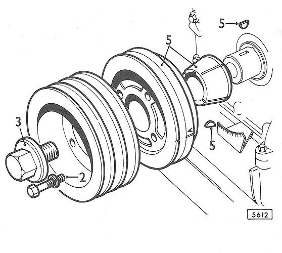 V12 Engine Belt