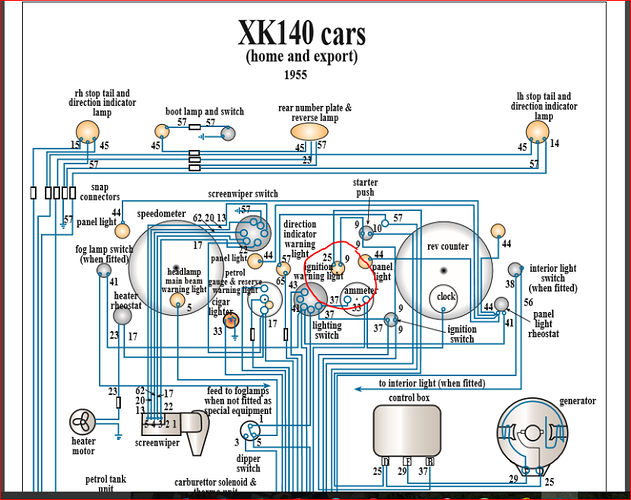 Ignition Light wiring - XK - Jag-lovers Forums