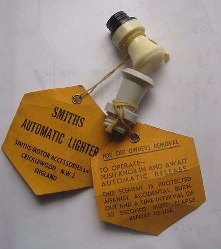Smiths Automatic lighter - XK - Jag-lovers Forums
