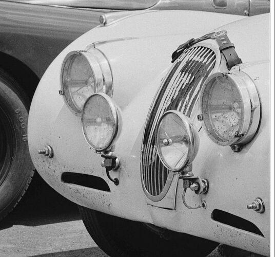 Foglamp grommet LeMans 1950