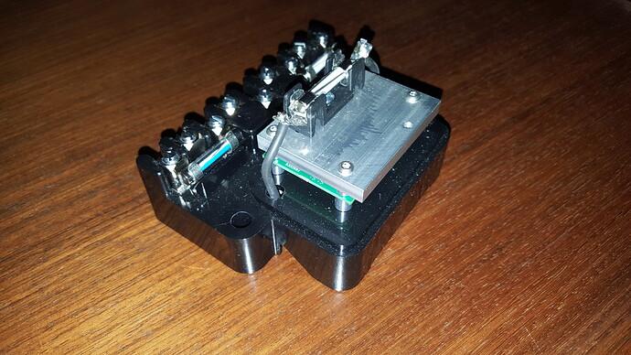 Electronic control box a