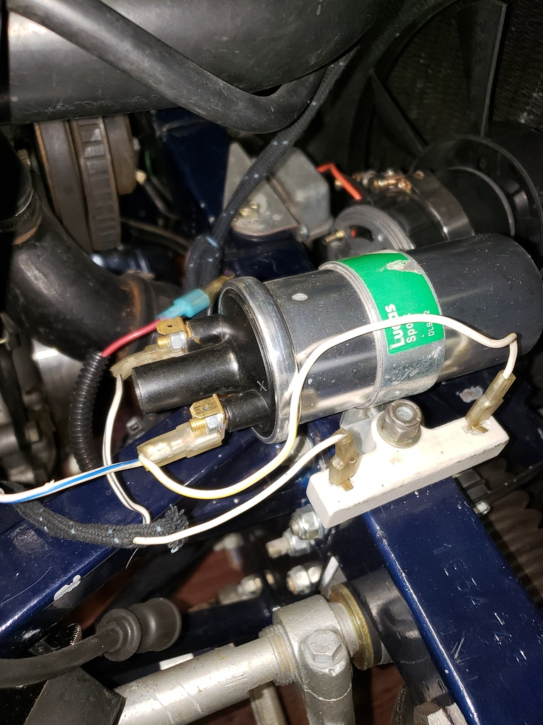 Another Tachometer Wiring Thread - Solved  - E-type