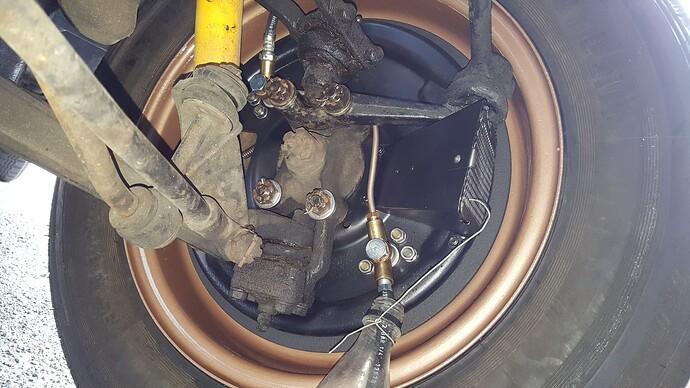 XK120 drum brake d