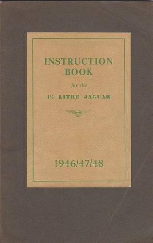 1.5 litre 1946 manual