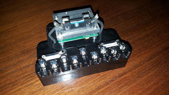 Electronic control box b