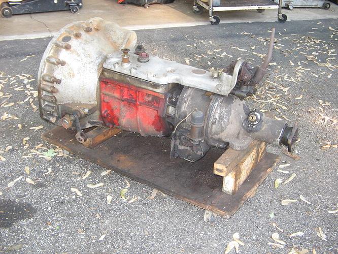 XK140 OD gearbox 002