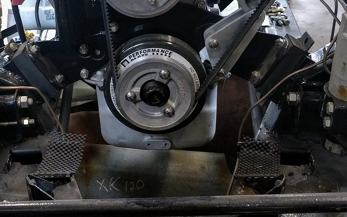 horse collar engine mount