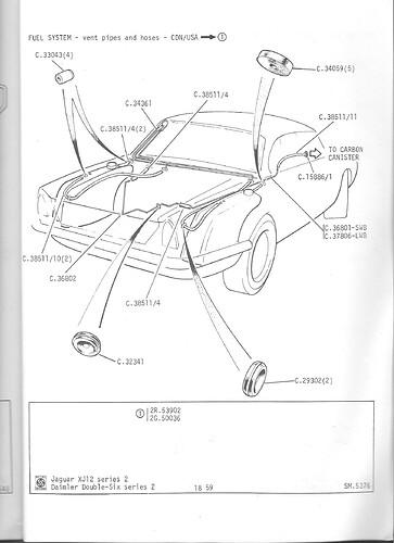 fuel tank vent system
