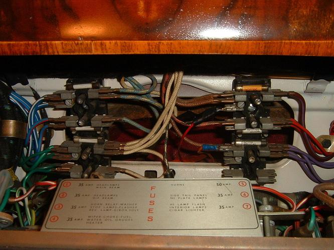 Dash wiring #1