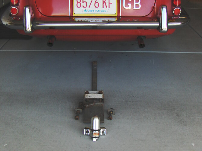 Witter towing bracket for my 'S'-type