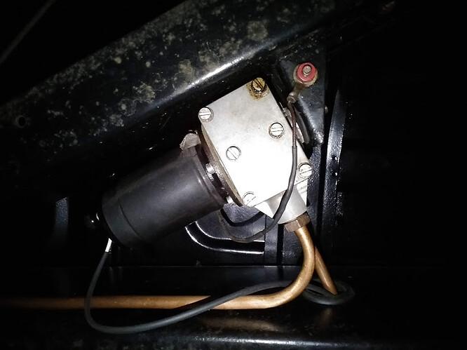 Mark V SU fuel pump