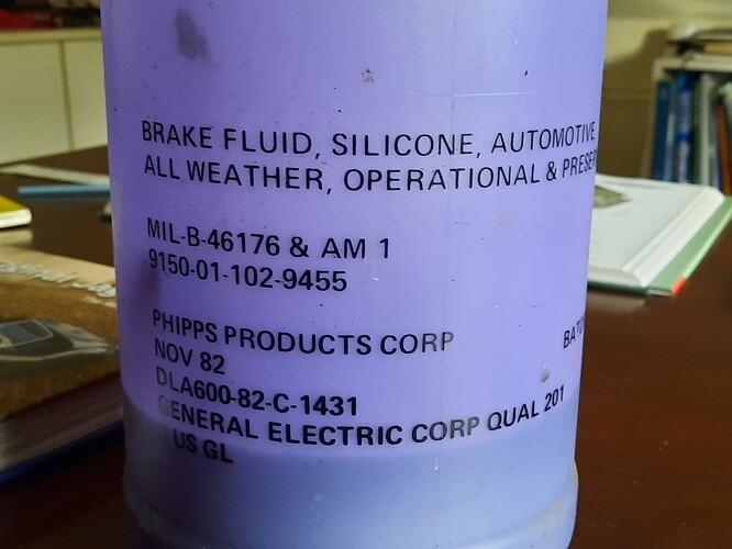 Silicon Brake Fluid