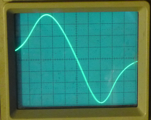 0.25 wide tooth waveform