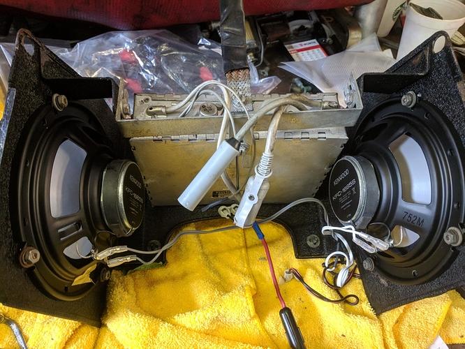 radio speaker options , kenwood