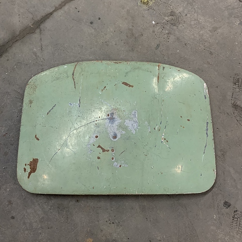 20 - Jag XKE E-Type Roadster Trunk Boot Lid  (1)