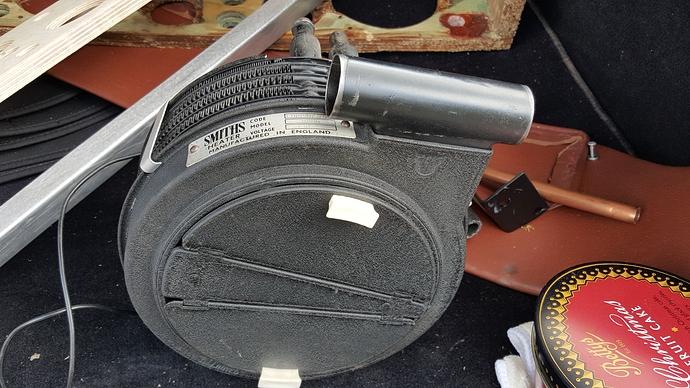 XK120 660405 zzzzu heater