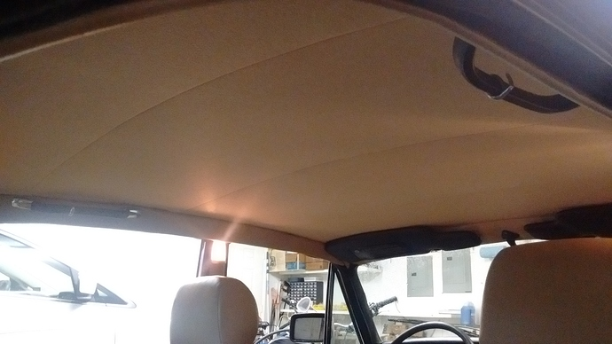 1978 xj6l s2 a different headliner replacement xj jag lovers
