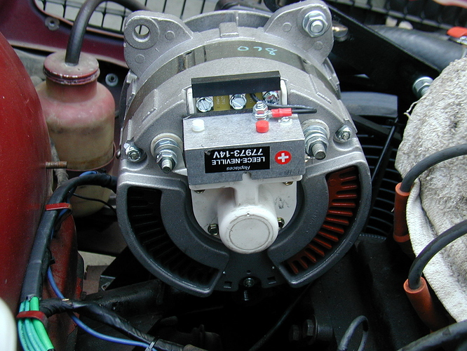 Siii Alternator Woes Anyone Else Seen This E Type Jag Lovers Forums