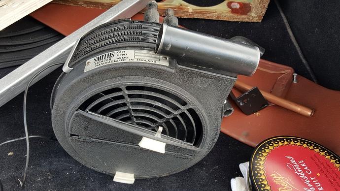 XK120 660405 zzzzv heater