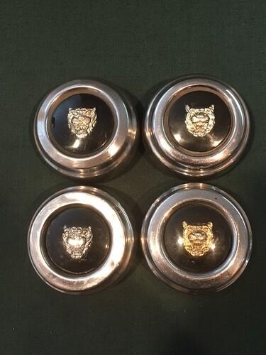 Centre Caps Jaguar