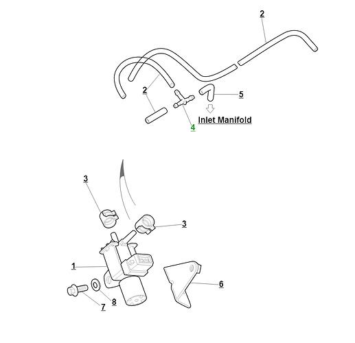 Part diagram vaccuum