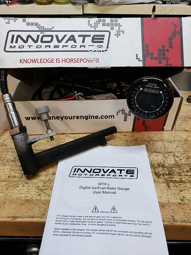 Innovate Motorsports Air Fuel Ratio Sensor and Gauge