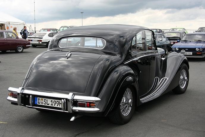 Jaguar_MK_V%2C_Bauzeit_1948-51%2C_Heck_(2008-06-28)