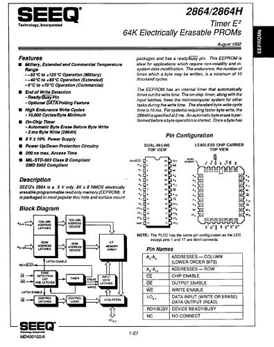 DE2864_EEPROM_Datasheet_FirstPage
