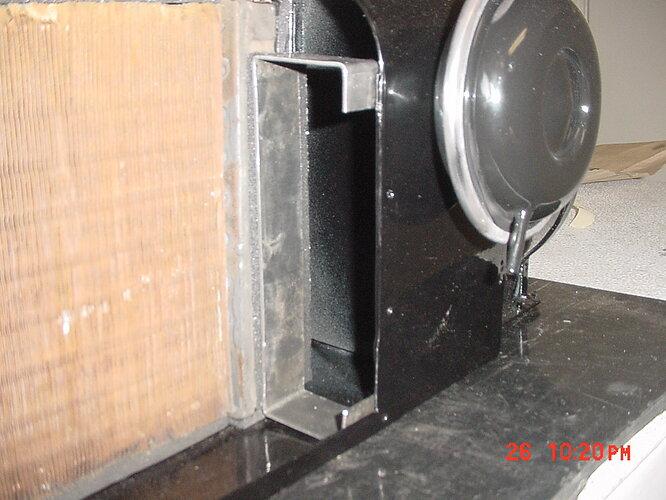 Heater box new brackets