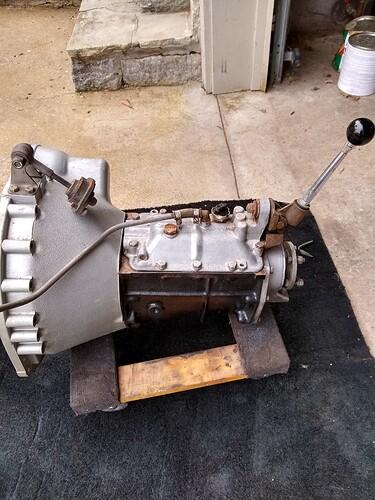 Series 2 xke gearbox 2