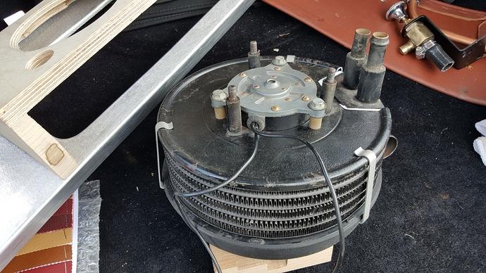 XK120 660405 zzzzt heater