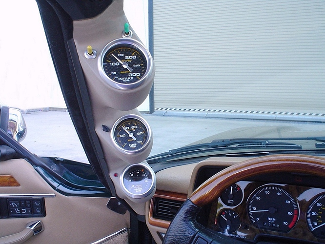 Performance gauges and controls