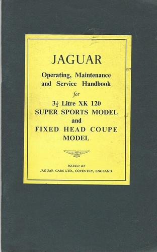 XK120 manual