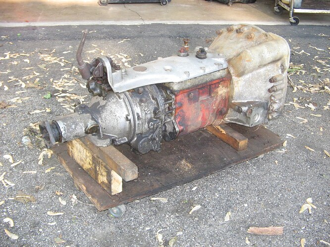 XK140 OD gearbox 001