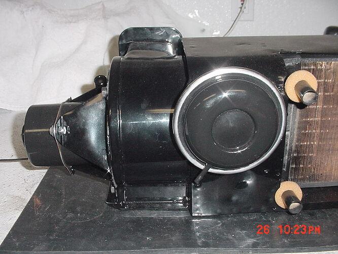 Heater box RH side