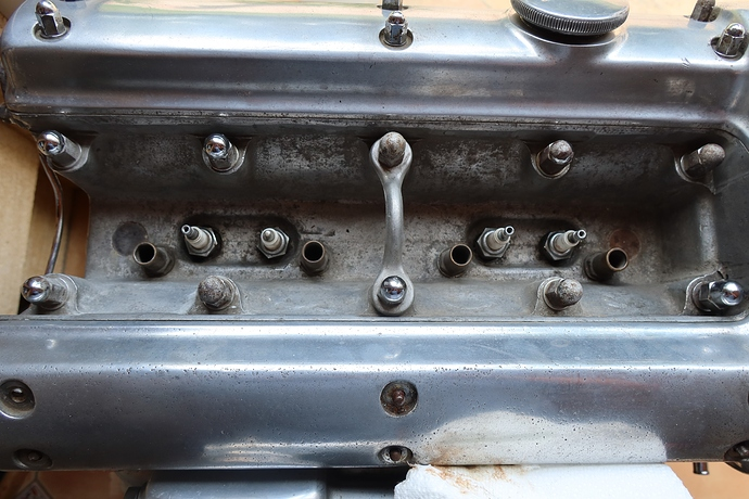 Cylinder head with cooling pipes