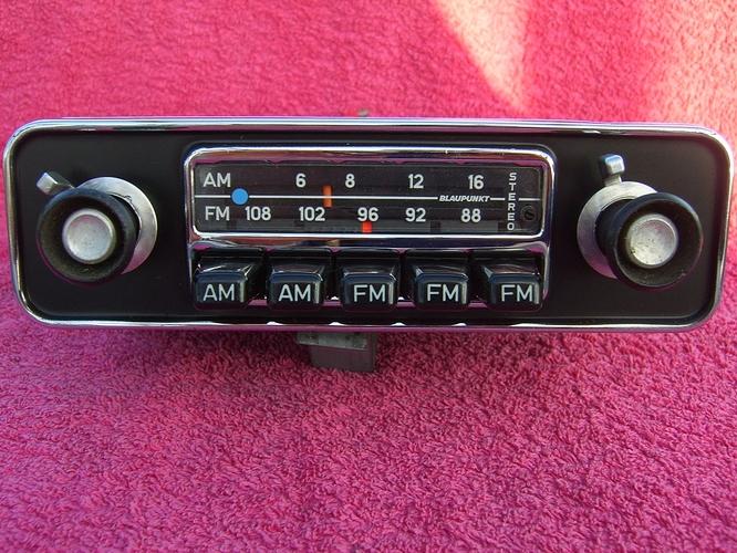 Blaupunkt Frankfurt US Stereo