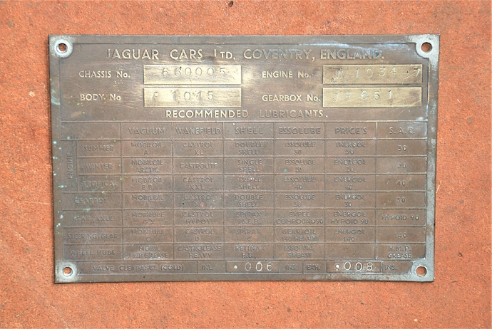 660005 CHASSIS PLATE
