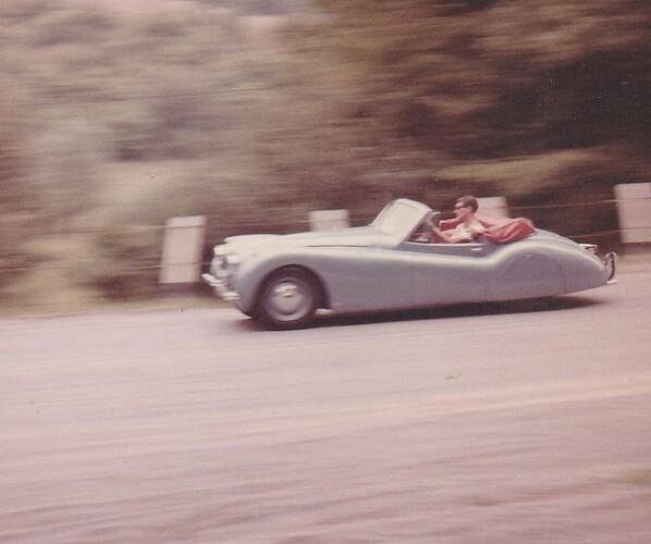 XK circa '64 (snake road)