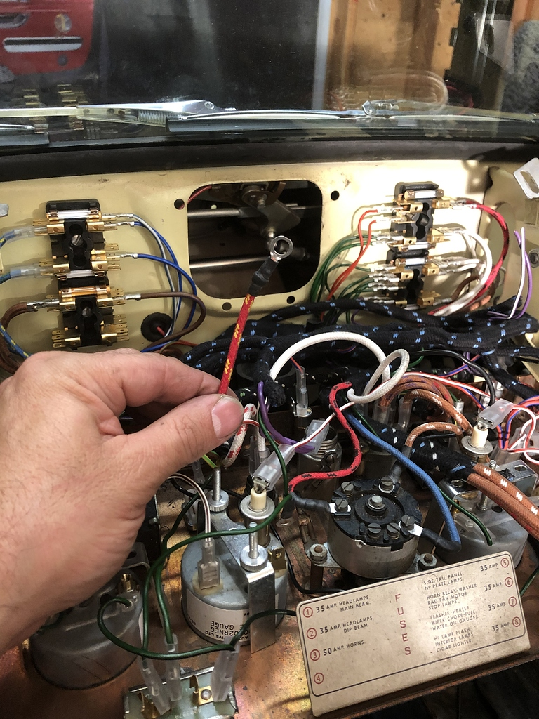 Help On A Couple Of Wires For A 1967 Etype - E-type