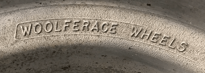 Woolferrace logo closeup