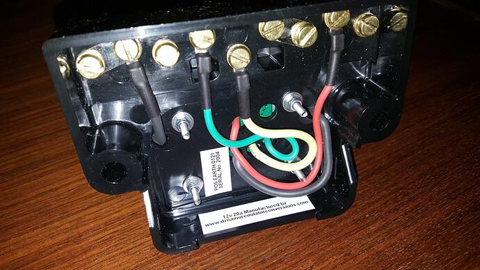 Electronic control box c