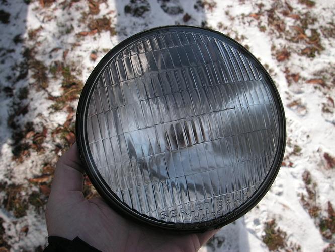 6 volt sealed beam headlight 002