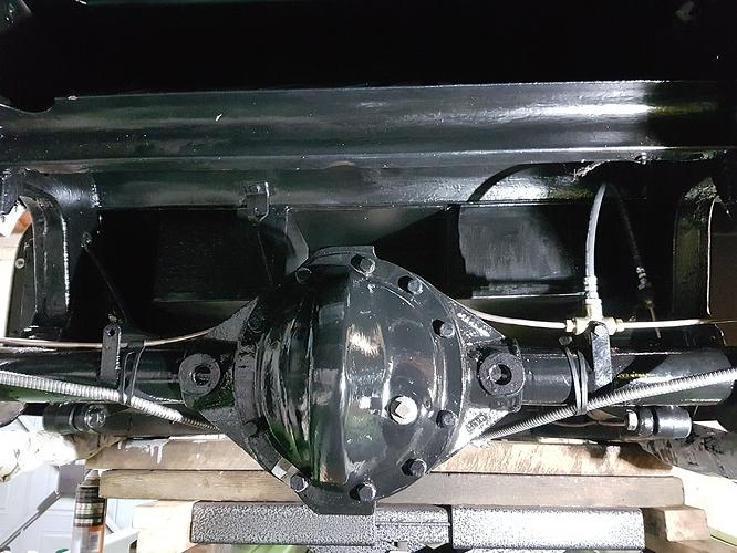 Rear axle restored