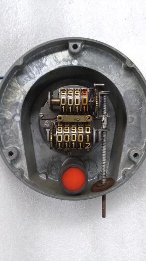 XK120 speedometer