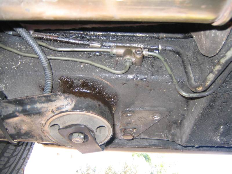 Brake line from front to left brake and cavity (1)