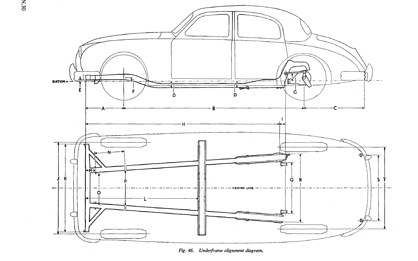 Mark 2 Track Dimensions - Saloons
