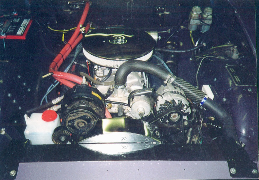 engine front view